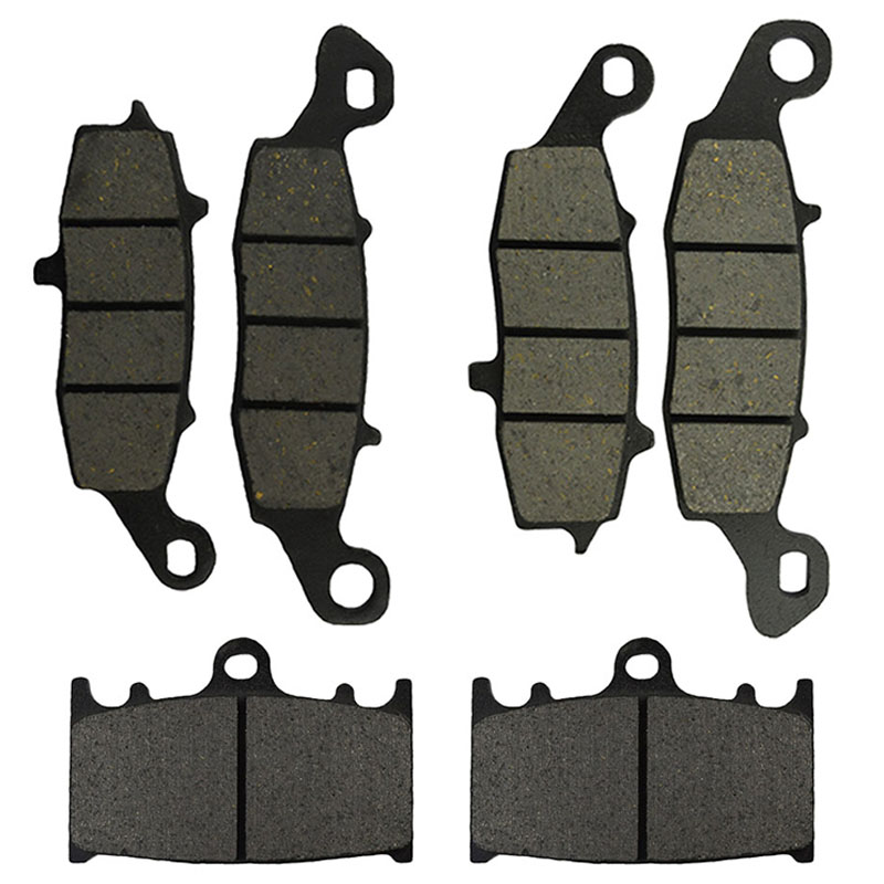 Motorcycle Front and Rear Brake Pads for <font><b>SUZUKI</b></font> VL 1500 <font><b>Intruder</b></font> 2002-2009 <font><b>VL1500</b></font> Boulevard C90 C90T 2005-2010 image