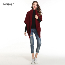 Long Direct Selling Feminino Simpcq Autumn Spring Woman Knitted Sweaters Solid Jersey Mujer Invierno Pull Femme Trui Zj045