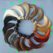 15cm wavy doll hairs SD AD 1/3 1/4 1/6 bjd doll diy Hair for blyth BJD curly doll wigs tress