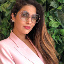 2019 Butterfly Vintage Sunglasses Women Oversized Frame Fashion Eye Shades for Retro Style High Quality
