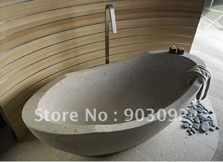 Top selling Top luxury natural stone bath tubs terrazzo bathtub freestanding customized