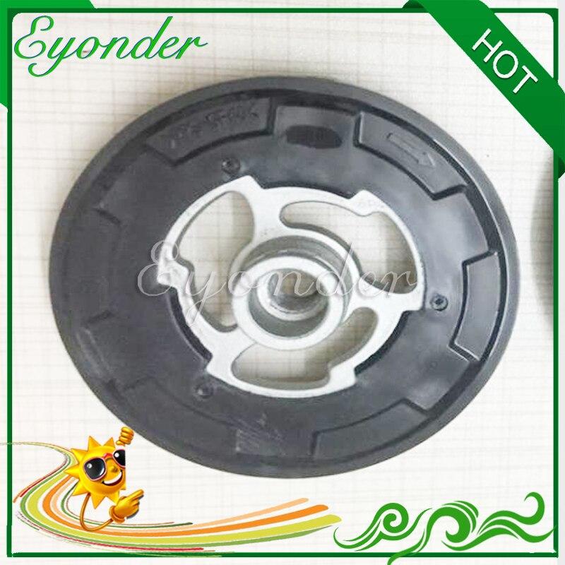 A/C AC sprężarka klimatyzacji sprzęgło magnetyczne centrum płyta z gumy zestaw dla Toyota Avensis Corolla Opel Corsa D PPS-GF40