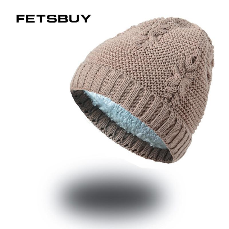 4d14e960352 FETSBUY 2018 Winter Hats For Women Men Caps Gorras Bonnet Mask Brand Hats  Winter Knitted Hat
