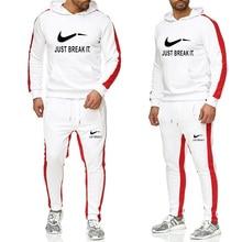 Спортивный костюм большого размера мужской комплект спортивная одежда тренировочный костюм мужской