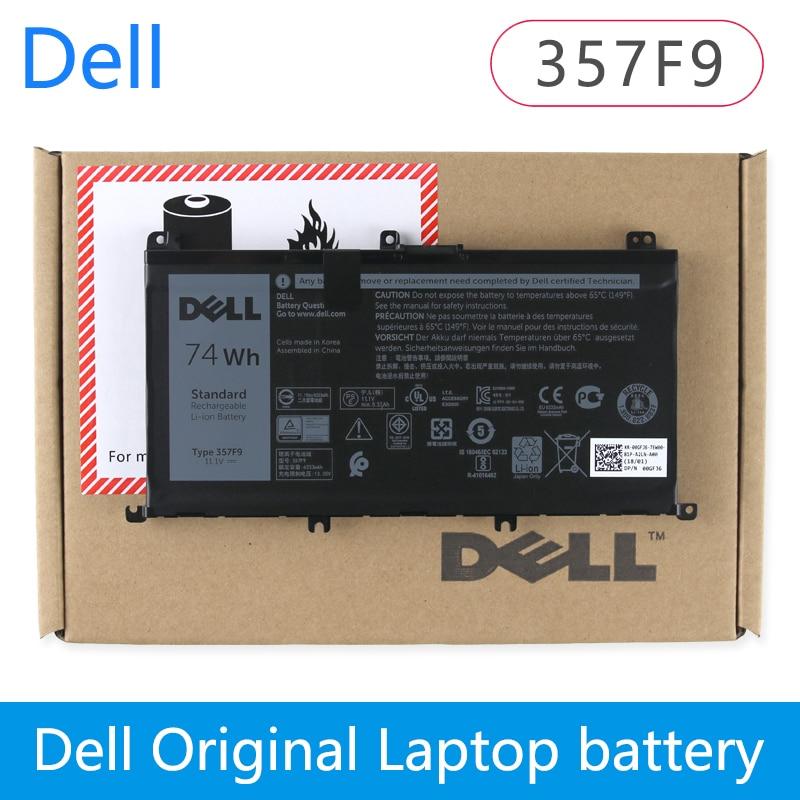 Originale batterie dordinateur portable Pour Dell Inspiron 15 7559 7000 INS15PD-1548B INS15PD-1748B INS15PD-1848B 357F9 11.1 V 74WhOriginale batterie dordinateur portable Pour Dell Inspiron 15 7559 7000 INS15PD-1548B INS15PD-1748B INS15PD-1848B 357F9 11.1 V 74Wh