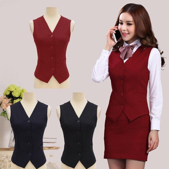 2015 moda de lujo carrera de negocios para mujer uniformes
