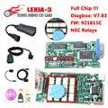 Mejor Lexia3 V48 Lexia 3 de Chip Completo/V7.83 Más Reciente Diagbox PP2000 V25 Lexia-3 Firmware 921815C para p-eugeot/itroen-c Herramienta de Diagnóstico