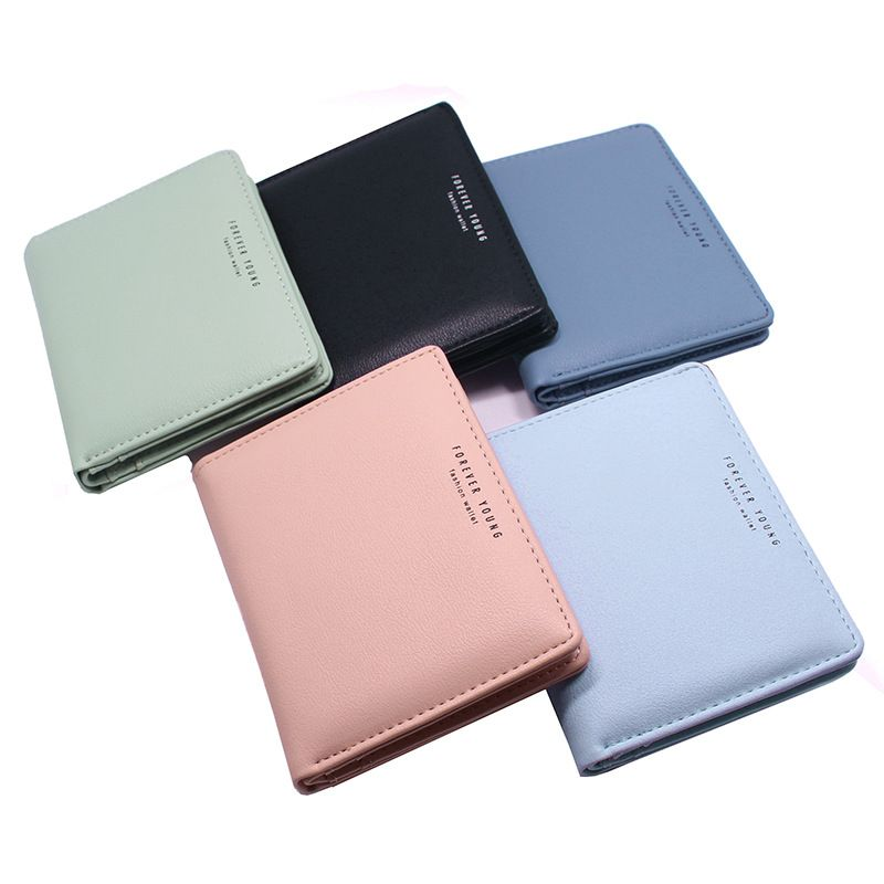 2020 Women Wallet Small Cute Wallet Women Short Leather Women Wallets Purses Female Purse Clutch