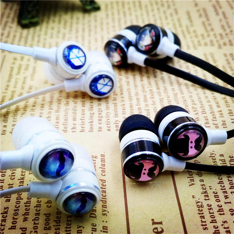 402d169a70b ... Anime Fairy Tail Guild Lucy Cartoon In-ear Earphone 3.5mm Stereo Earbuds  Music Headset ...