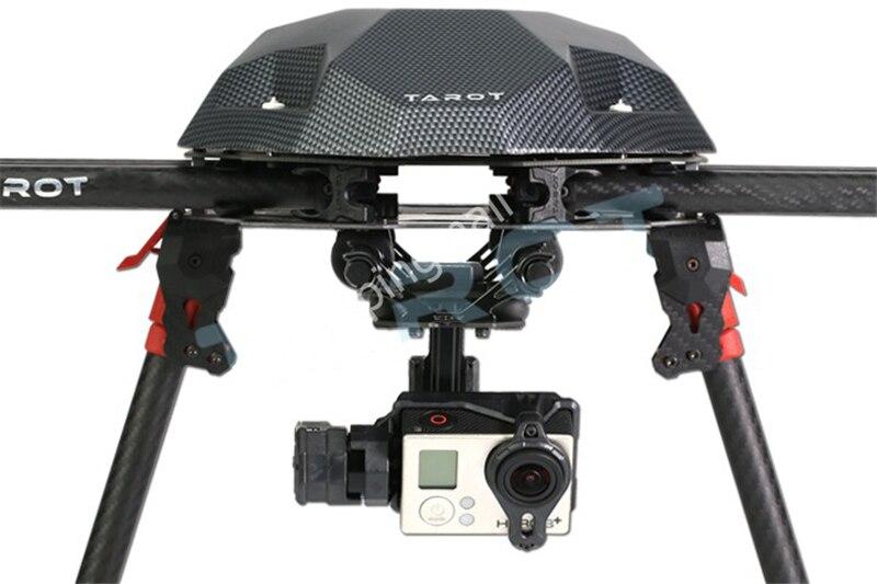 Tarot T2-2D 2 axes sans balais cardan pour Gopro Hero 4/3 +/3 TL2D01 bricolage Drone FPV cardan - 4