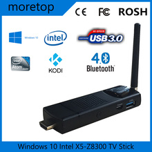 Measy T8C Windows 10 TV Stick Kodi Intel TV Stick Computer Stick with intel atom x5-z8300 mini pc Quad Core CPU 4G/64G USB3.0