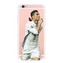 Football Star Hard Phone Case for iPhone