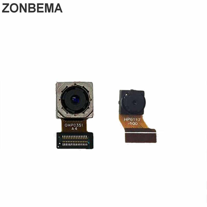 Фото Zonbema оригинальный Тесты задняя основная фронтальная Камера для huawei Y6 Pro 2017/P9 lite mini