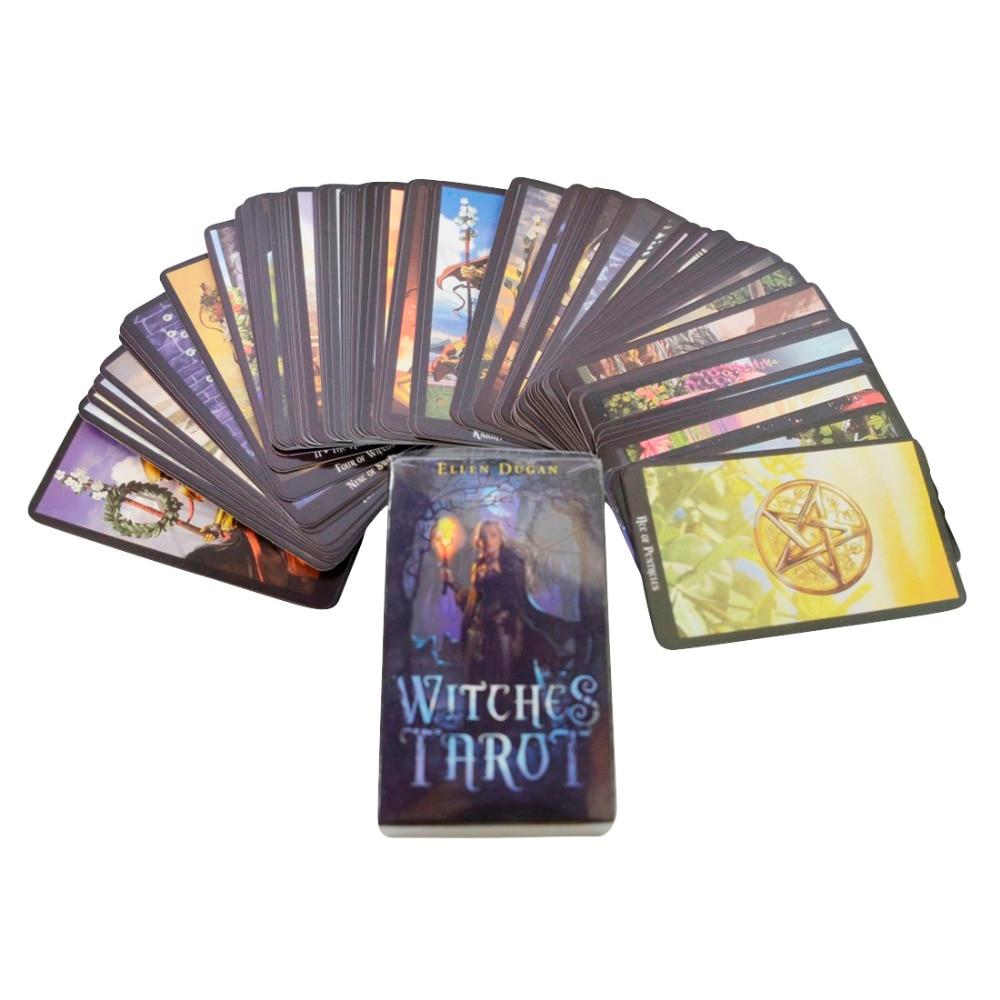 Tarot Cards New Mystic Tarot Deck Cards English Version Sorcerer Mythic Tarot Cards Fate Divination Tarot Deck Card Game