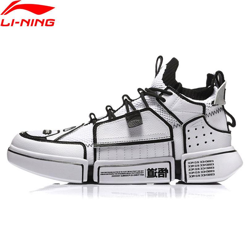 Li-ning PFW Hommes L'ESSENCE ACE Basket Chaussures Doublure Respirante Chaussures de Sport Baskets De Fitness AGBN069 YXB197