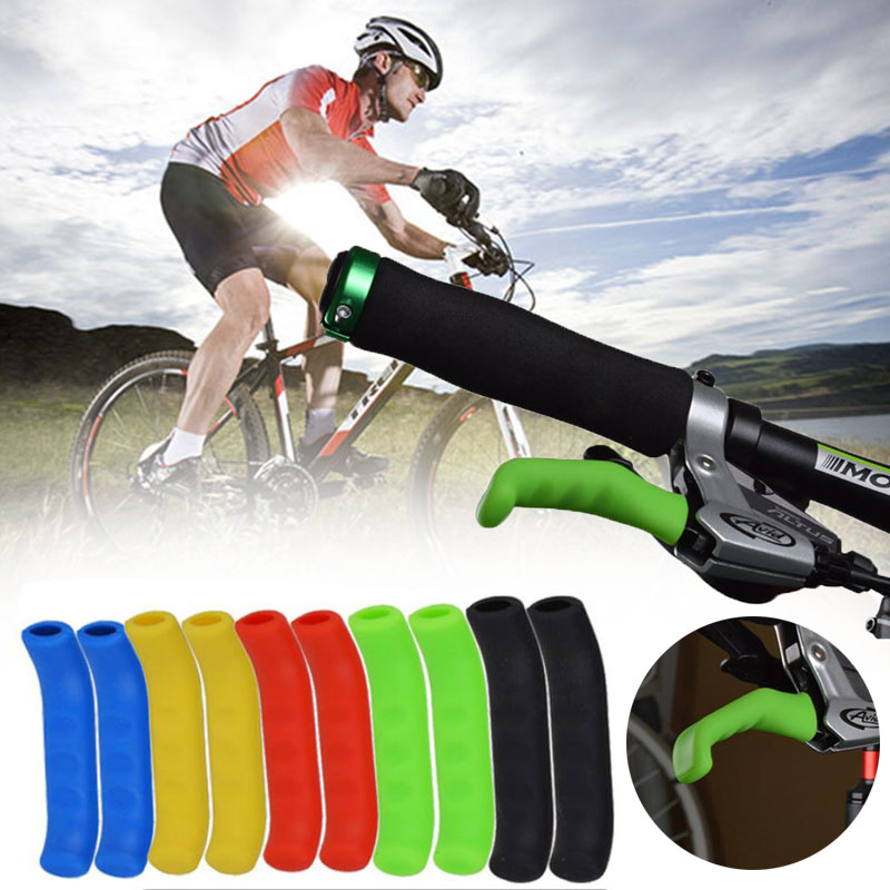 Vintage Grips Protector Brake Lever Cover Protective Safety New Bike Bicycle YI