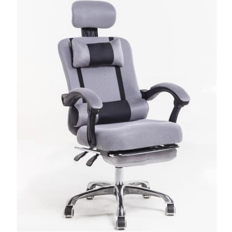 240336/Household Office Chair/Computer Chair/3D thick cushion/Ergonomic Chair/Quality PU wheel/High breathable mesh 240311 high quality pu leather computer chair stereo thicker cushion household office chair steel handrails