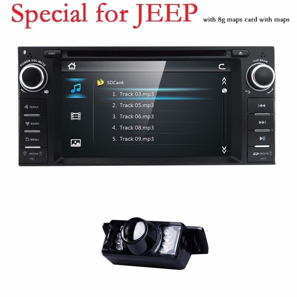 Est reo del coche para el jeep commander br jula grand cherokee wranger gps nav radio dvd calibre
