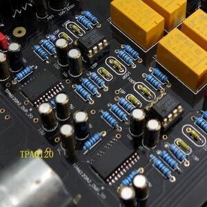 Image 4 - E600 tam dengeli giriş dengeli çıkış kulaklık amplifikatörü TPA6120 Ultra düşük gürültü JRC5532 Op amplifikatör kurulu