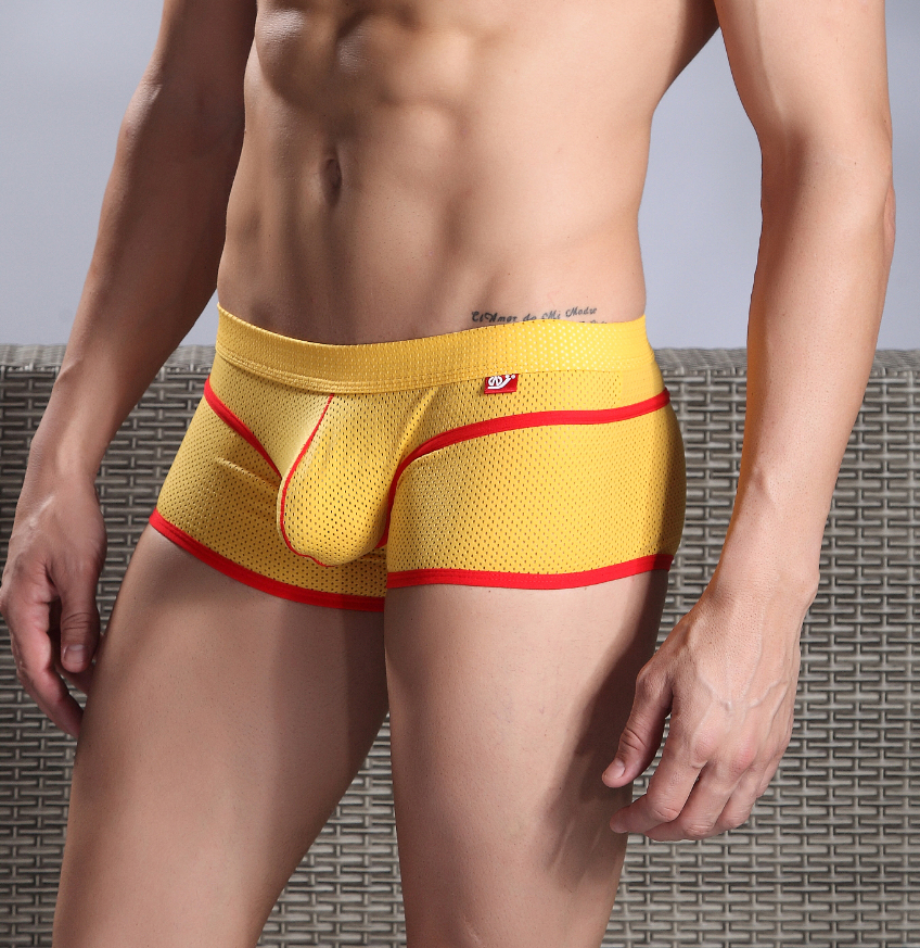 Free Shipping New Fashion Men's Sexy Underwear Pouch 3 Sizes S M L 2 Colors Very Cool