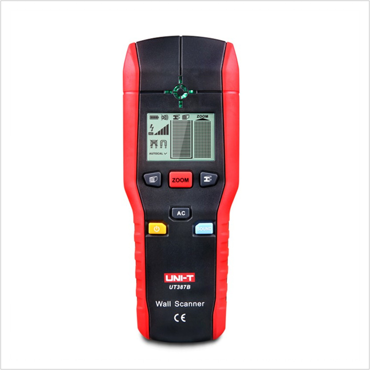Diagnostic-Tool UNI-T UT387B Multifunctional Handheld Wall Detector Metal Wood AC Cable Finder Scanner Accurate Wall