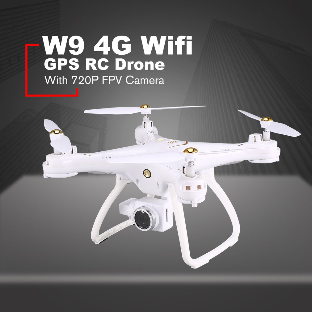 Attop RC Dron W9 4G/5G Wifi GPS 720P/1080P FPV Camera Real-time Transmission rc Quadcopter With Headless Mode Altitude Hold DronAttop RC Dron W9 4G/5G Wifi GPS 720P/1080P FPV Camera Real-time Transmission rc Quadcopter With Headless Mode Altitude Hold Dron