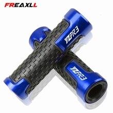 цена на 7/8 22mm Universal Motorcycle Handle Handlebar Hand Bar Grip For YAMAHA YZF R3 YZFR3 2015 2016 R3 2015-2018 2019 YZF-R3 2017 18