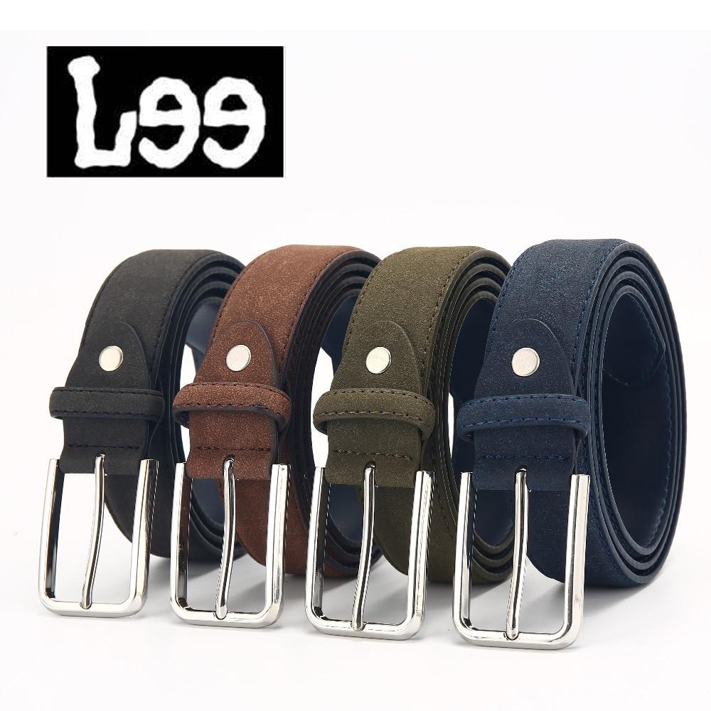L99  PU ceinture hommes mâle PU sangle boucle ardillon fantaisie vintage  jeans ceinture homme ceintures cummerbunds avec quatre couleurs à choisir 82a9794f8f1