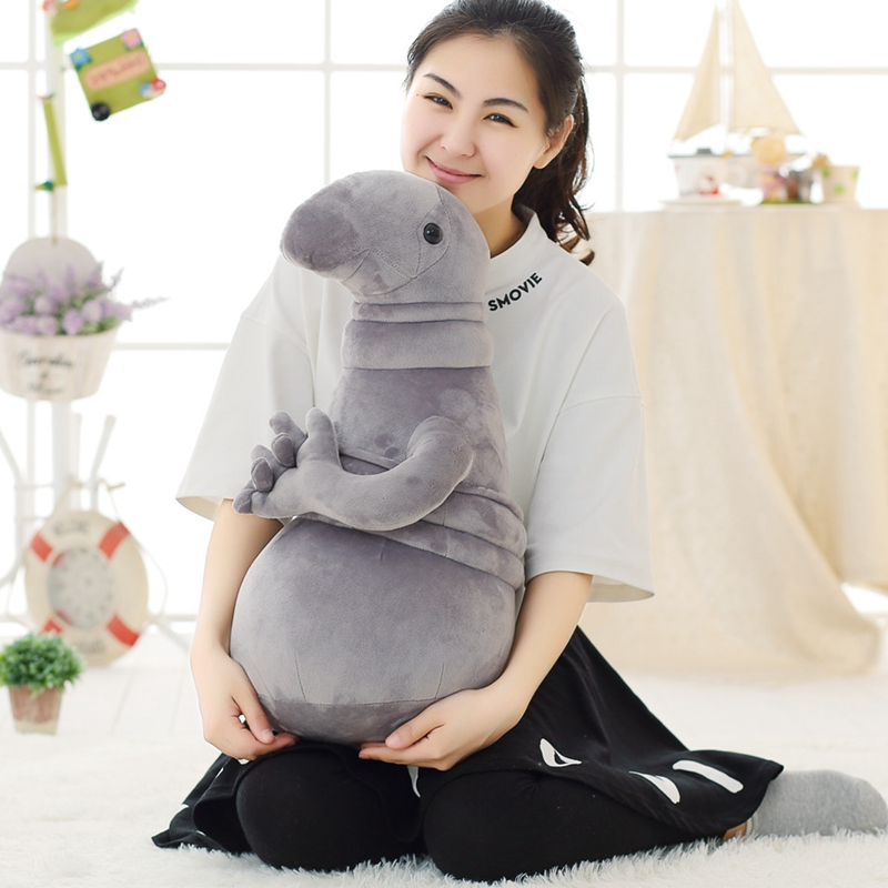 New Arrivals Waiting Plush Toy Zhdun Meme Tubby Grey Blob Zhdun Plush - პლუშები სათამაშოები - ფოტო 5