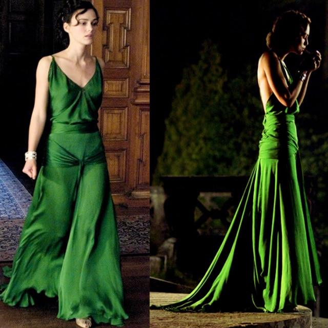 sexy hot inspiriert Keira Knightley grün sexy Abend berühmtheit ...