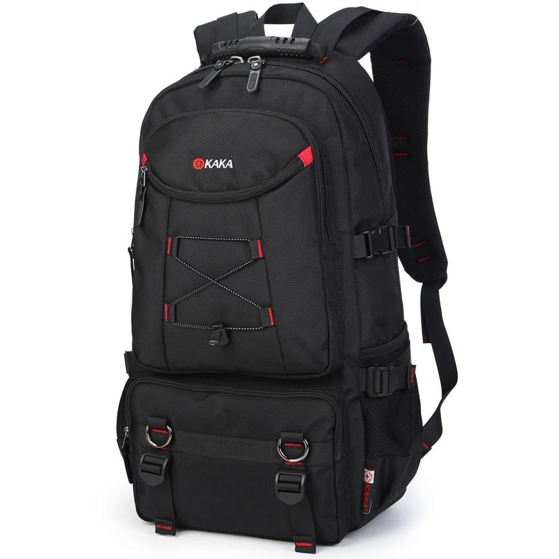 Bagpack Mochila Canvas Men Backpack Luxury Brand Korean Casual Men Shoulder Bag Portable Summer Style Multi-function Backpacks