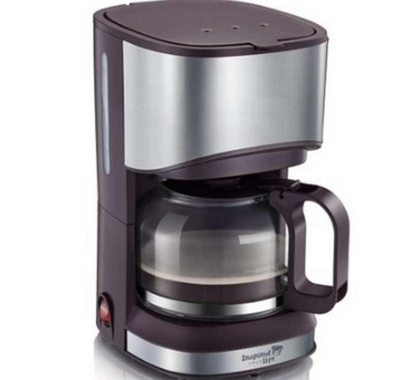 Coffee maker American drip coffee machine 0.7 liter can be insulated american coffee maker uses a drip automatic machine