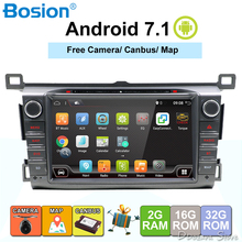 2GB RAM Android 7.1 Quad Core Car DVD Player For Toyota RAV4 RAV 4 2013 2014 2015 GPS Navigation Radio Stereo BT System camera