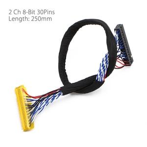 Image 5 - QT526C V1.3 Digital Signal DVB S2/T2/C ATV LCD Driver Board Dual USB Russian T.S512.69+7Key + 2ch 8bit lvds cable +CCFL inverter