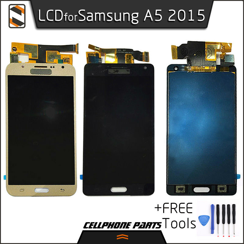 ФОТО LCD Display for Samsung Galaxy A5 2015 A500 A5000 A5009 A500F A500FU/FQ A500M A500Y LCD Touch Screen Digitizer Assembly Repair
