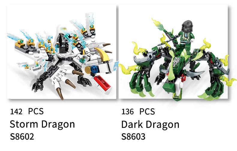 Ninjago Dragon Building Blocks 26