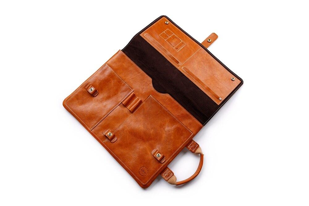 laptop case leather