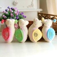 20pcs 14cm Snail Stuffed & Plush Animals Turbo Snail Plush Toy For Promotion High Qualith Machine grasp Doll