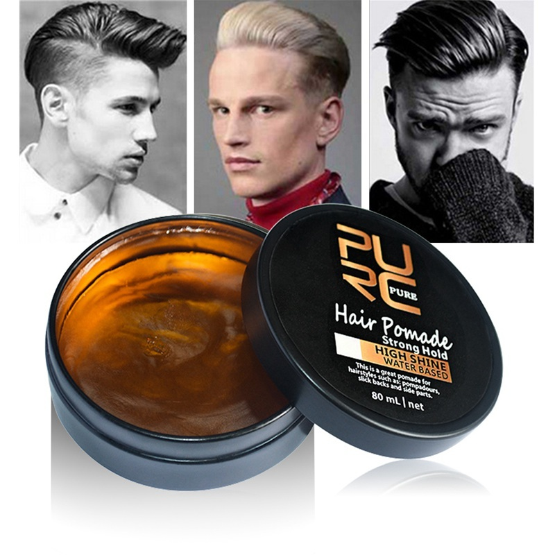Mens Hair Styling Products Strong Hold Natural Look Hair Ancient Hair Cream Product Hair Pomade 80ml Hair Pomade Style Pomadepomade Products Aliexpress