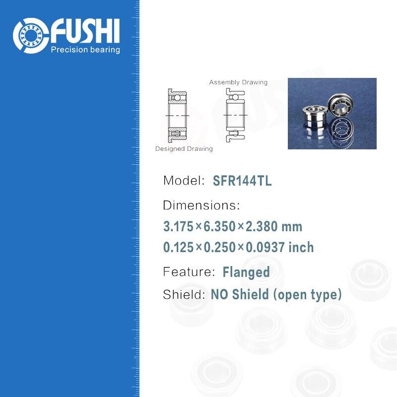 Dental Bearing SFR144TLZ 4 Pcs ABEC 7 P4 Grade For Handpiece Turbine High Speed SFR144 TL