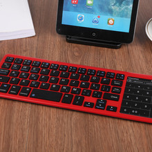 73e4f23af27 Universal Compatible Ultra Compact Slim Profile Wireless Bluetooth Keyboard  With Rechargeable Battery#ZS(China