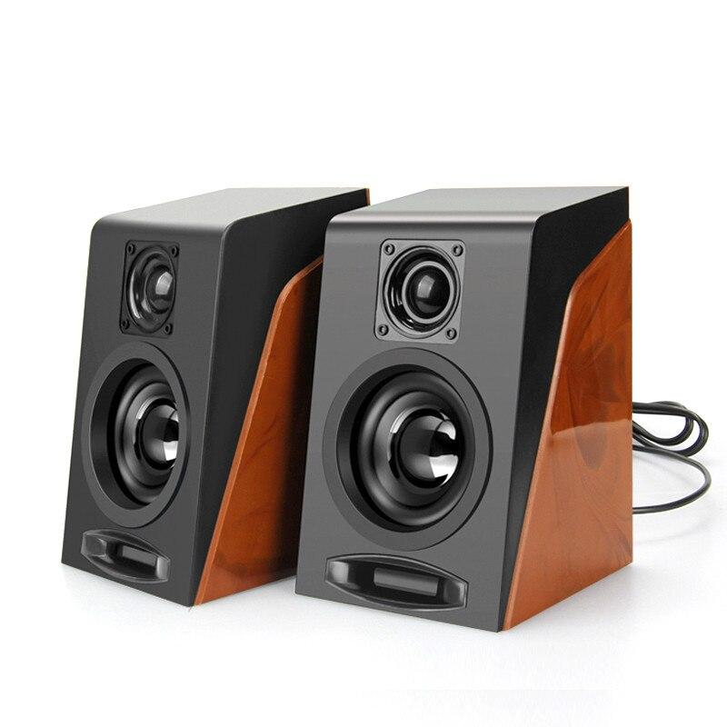 , Die Alte Weisen Desktop Kleine Computer Pc Lautsprecher Desktop-computer Mini Lautsprecher Multimedia Usb Lautsprecher Moderate Kosten