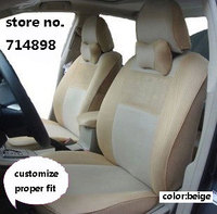 Seat Covers Properly Fit For TOYOTA HIGHLAND 5seats Full Set Four Season Sandwich Car Seat Cover