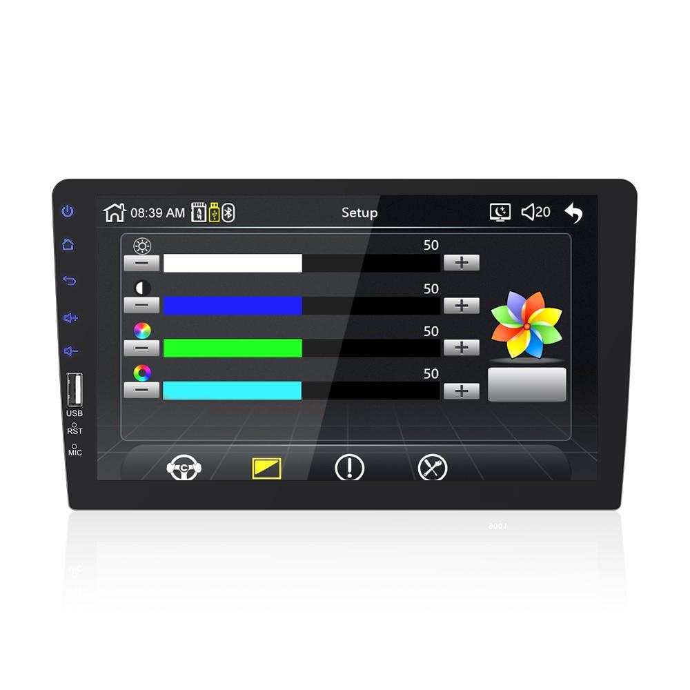 Auto Radio Player Spiegel Link autoradio 2 din Für Toyota Corolla E140/150 2008 2009 2010 2011 2012 2013 auto stereo Hinten Kamera - 5