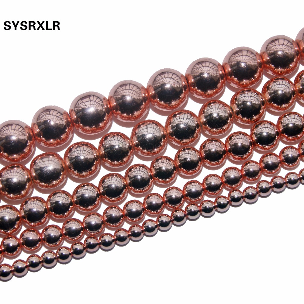 Buy rose gold beads and get free shipping on AliExpresscom