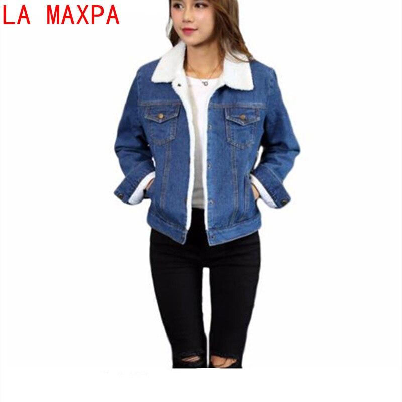 jeans jas met wol dames
