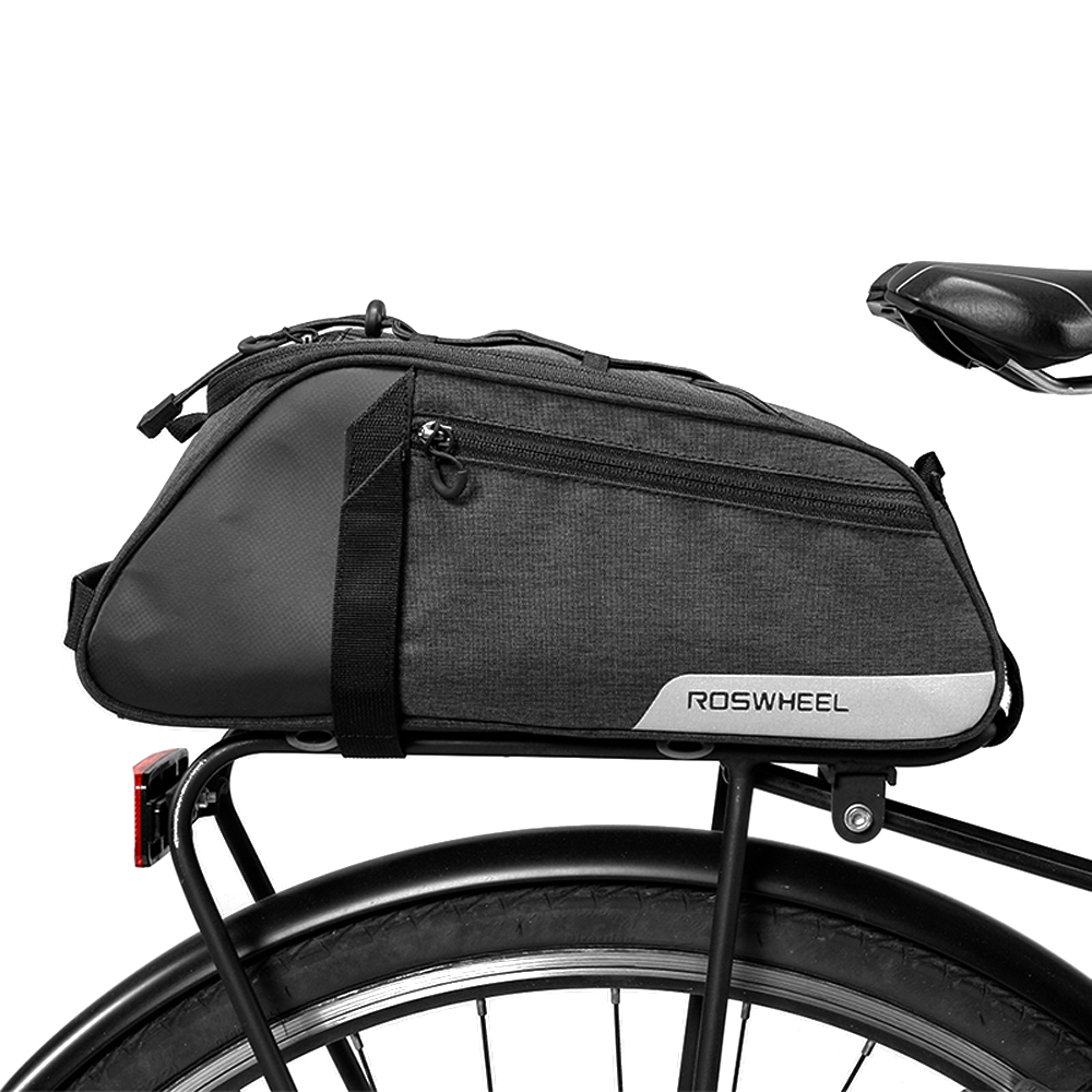 Lixada Water Repellent Cycling <font><b>Bike</b></font> Rear Seat Bag <font><b>Bike</b></font> Trunk Cargo Pack Road <font><b>Bike</b></font> <font><b>Carrier</b></font> Bag basket for Bicycle <font><b>Accessories</b></font> image