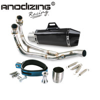 Exhaust Full System FOR Yamaha MT 07 FZ 07 Tracer 2014 2016 With Muffler
