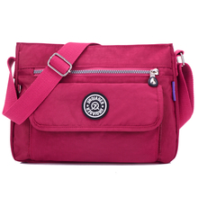 Venta caliente de las señoras bolsos 2016 nuevo bolso de hombro bolso de nylon Impermeable bolsa de Mensajero feminina mujeres bolsos S076