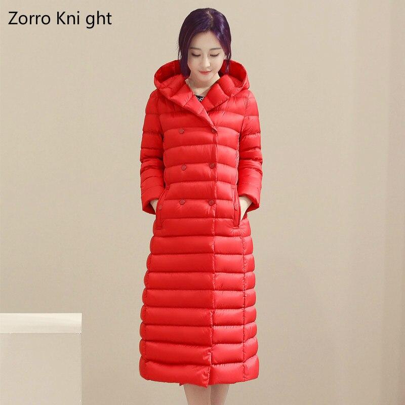 Zorro Kni ght 2018 printemps femmes Parka manteau femmes coupe-vent mince coton veste chaude avec une capuche nouveau S-XXXL
